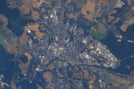 Znojmo a Plzeň z ISS – tisková informace 4.9.2018
